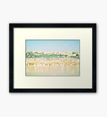 september sea Framed Print