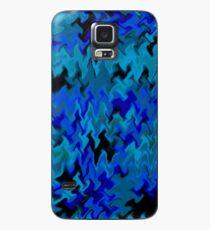 blue camo fury Case/Skin for Samsung Galaxy