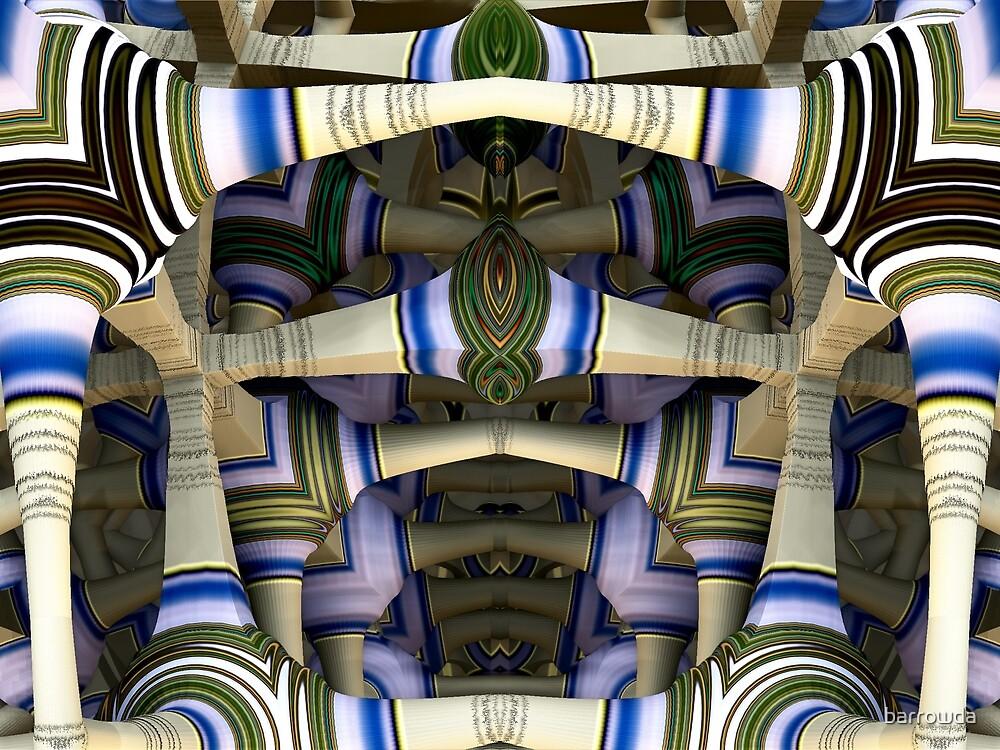 The Halls of Mathematics by barrowda