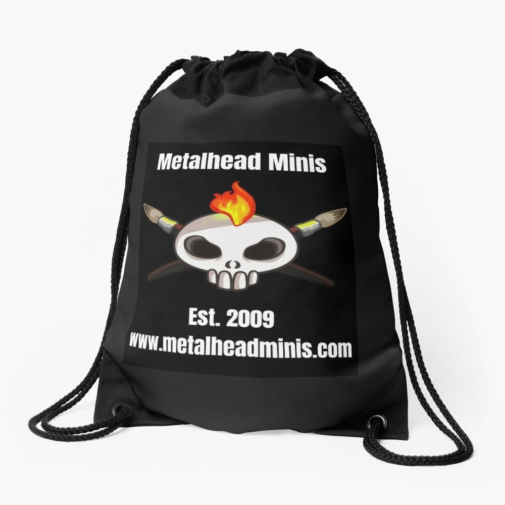 Metalhead Minis Logo - Large - 10 Year Anniversary Drawstring Bag