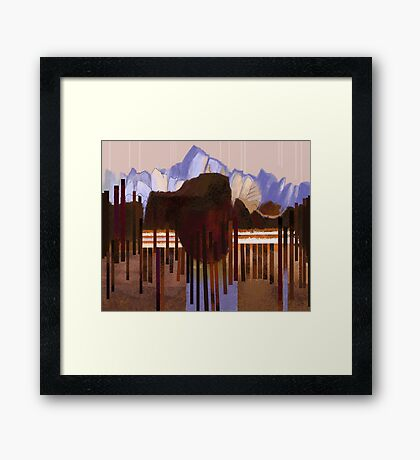 """Mountain View"" Framed Print"