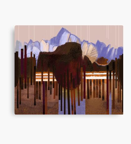 """Mountain View"" Canvas Print"