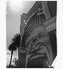 The Mouth - Luna Park, Melbourne Poster