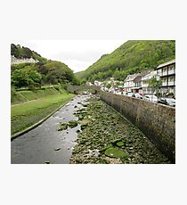 Exmoor river Photographic Print