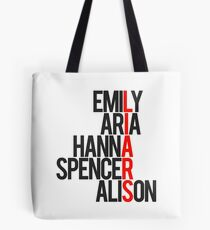 Pretty Little Liars Group Liars Tote Bag