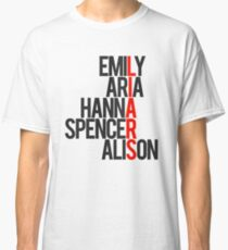 Pretty Little Liars Group Liars Classic T-Shirt
