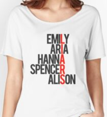 Pretty Little Liars Group Liars Women's Relaxed Fit T-Shirt