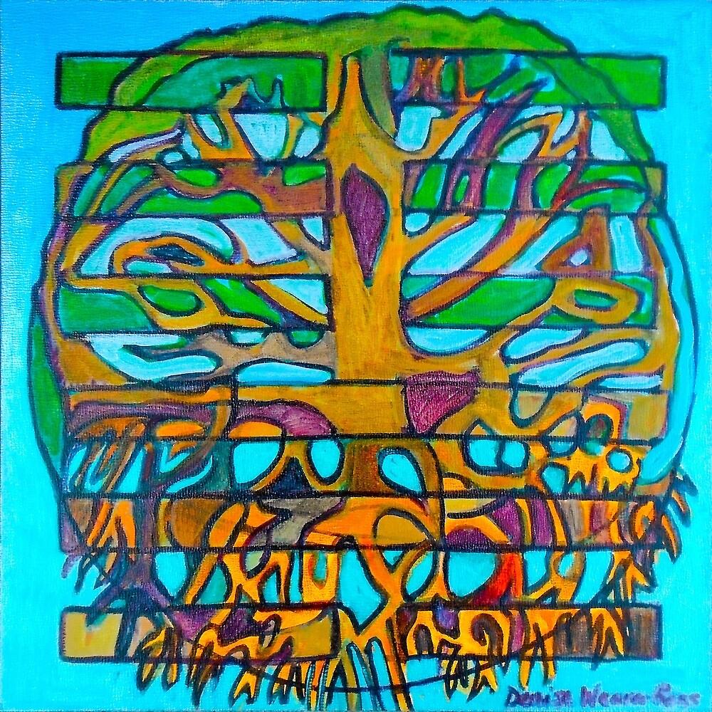 Hexagram 46: Shēng (Pushing Upward) by Denise Weaver Ross