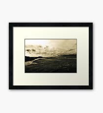 The Perfect Walk Framed Print
