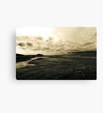 The Perfect Walk Canvas Print