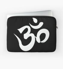 ohm white Laptop Sleeve