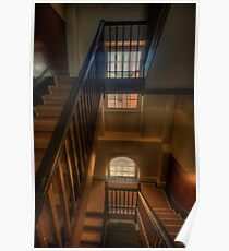 Upstairs Downstairs - Hyde Park Barracks -The HDR Experience Poster