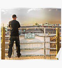 Keine Notwendigkeit, beim Demolition Derby zu lesen Poster