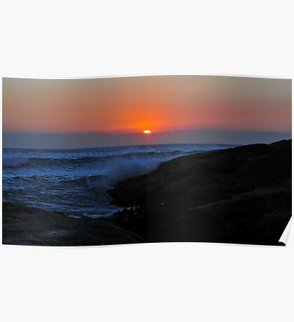 Sunset on Anna Bay Poster