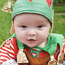 Archie as an Elf! by Belinda Fletcher