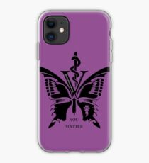 Vet Med After Hours You Matter Butterfly Galaxy Phone Cases iPhone Case