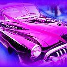 Purple Wheels by JamesPoole