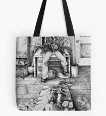 """""""There's nothing there!"""" Tote Bag"""