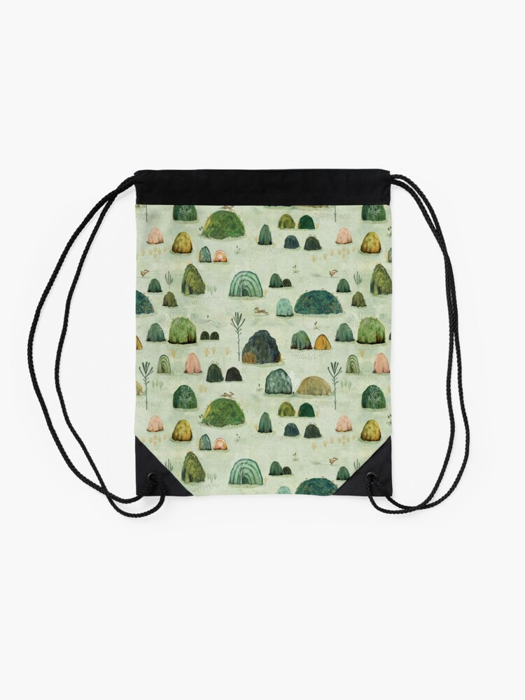 Alternate view of Mossy Hills Drawstring Bag