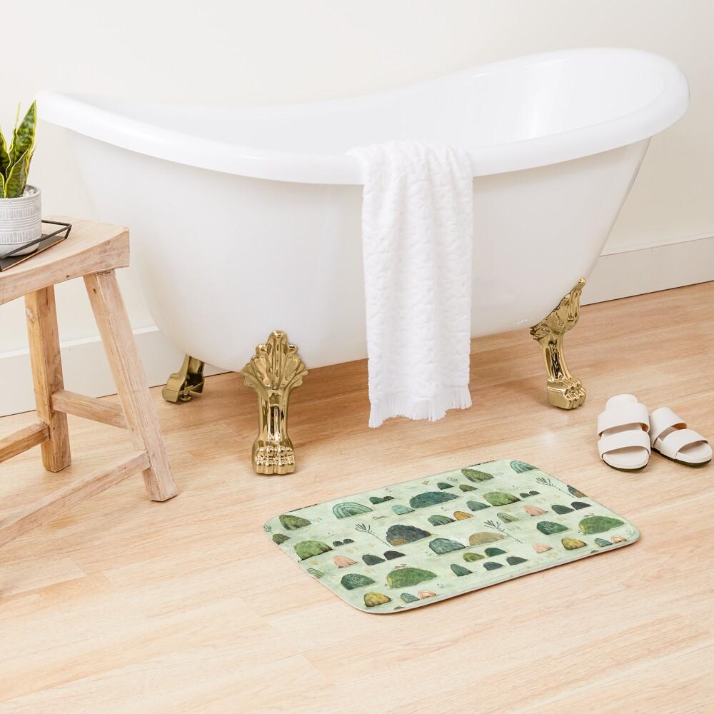 Mossy Hills Bath Mat