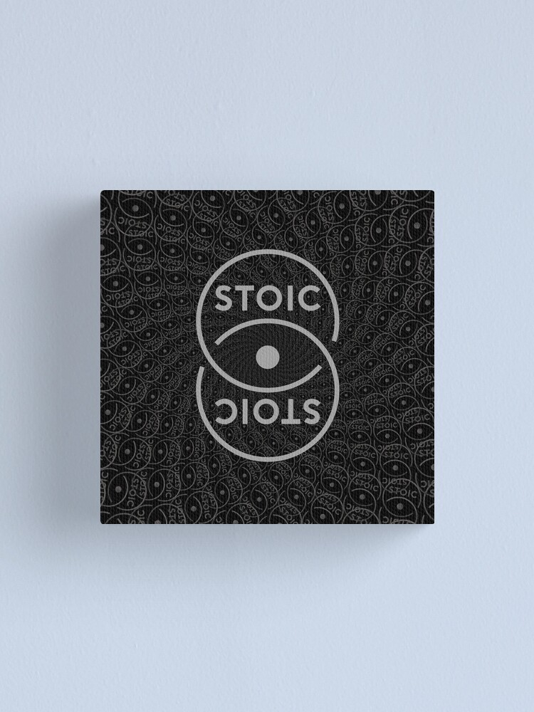 Alternate view of Stoic S Chain - Stay Stoic! Canvas Print