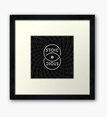 Stoic S Chain - Stay Stoic! Framed Print