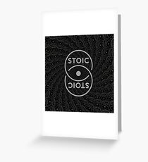 Stoic S Chain - Stay Stoic! Greeting Card