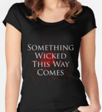Something Wicked v2.0 Fitted Scoop T-Shirt