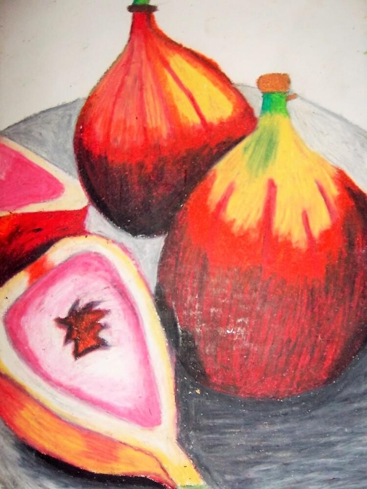 Passionfruit Still Life by Stefanie Sharp