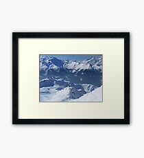 Awe-Inspiring Verbier Framed Print