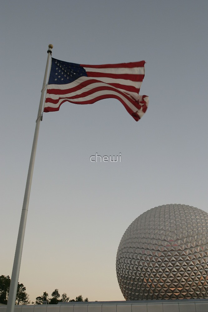 American Flag by chewi
