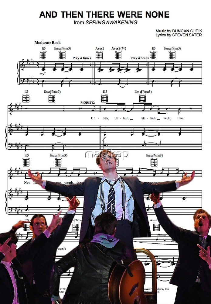 And Then There Were None - Spring Awakening by mad kap
