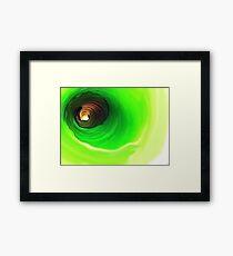 Around and Around..Nature's Mandala Framed Print