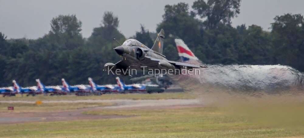 Mirage 2000 Take-Of by Kevin Tappenden