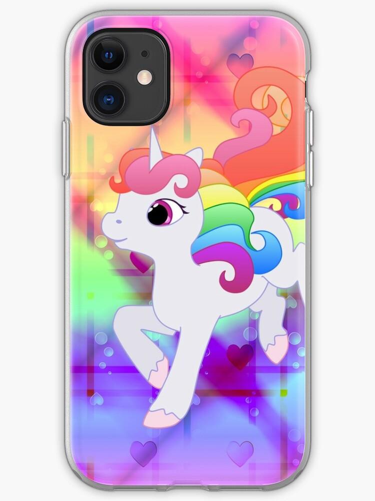 Cute Unicorn Rainbow Unicorn Case Cover