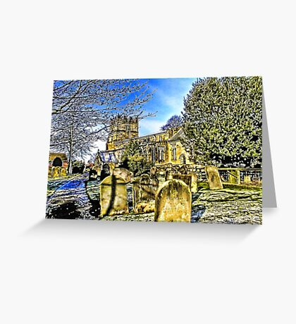 The Parish Church - Easingwold,North Yorkshire Greeting Card