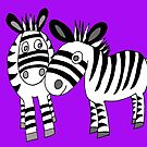 zebra love by mindgoop
