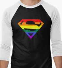 Super Queer 2 Men's Baseball ¾ T-Shirt