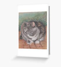 Precious Cat Greeting Card