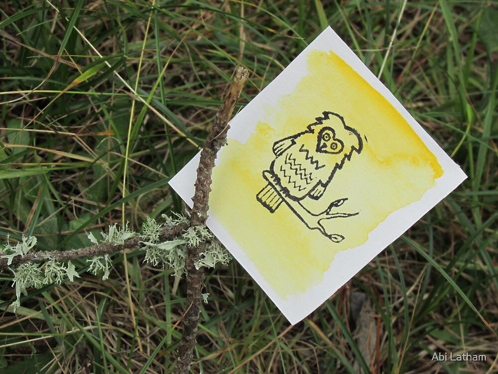 Little zigzag owl by Abi Latham