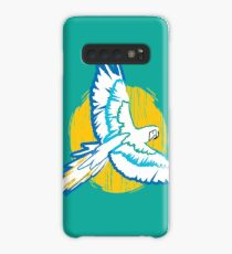 Macaw Blue and Yellow Bird Tropical Case/Skin for Samsung Galaxy