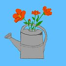 Watering Can by Kelly Cavanaugh