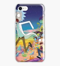 Rick And Morty..........And Monsters iPhone Case/Skin