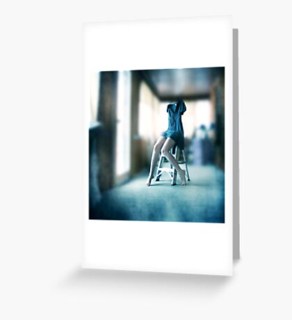 Disappearing Act Greeting Card