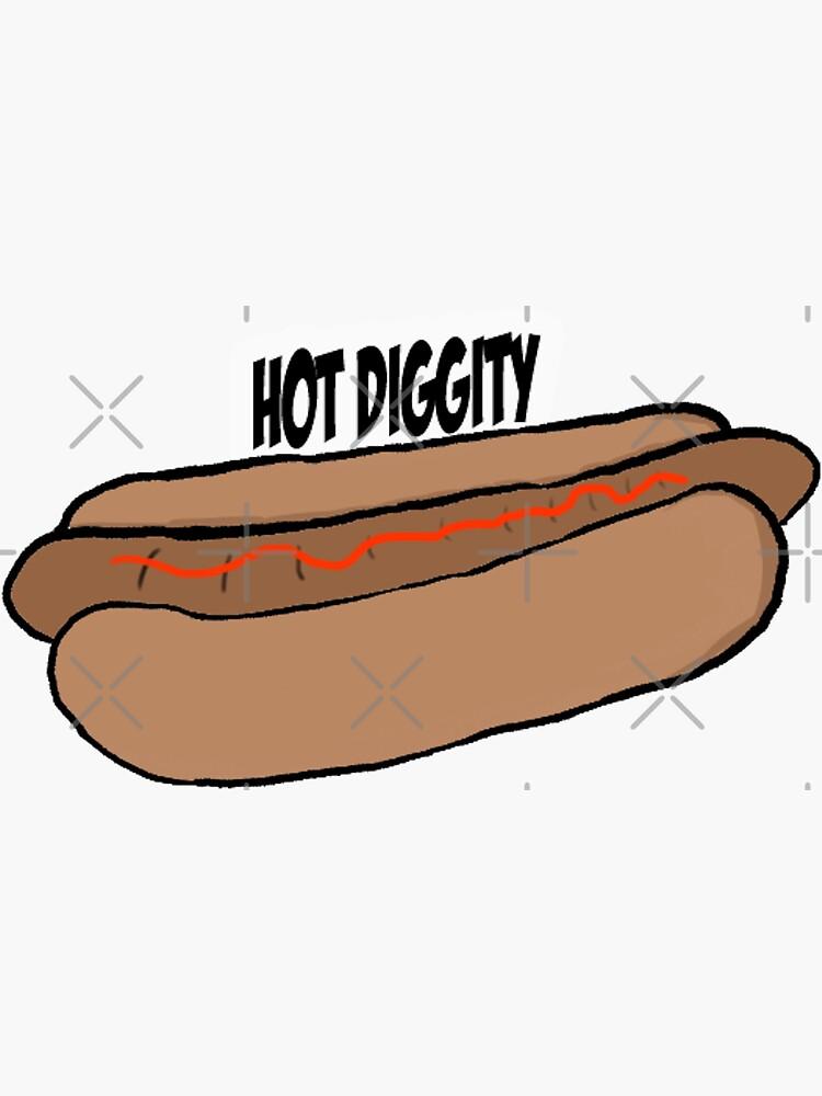 hot diggity dog by lokisart