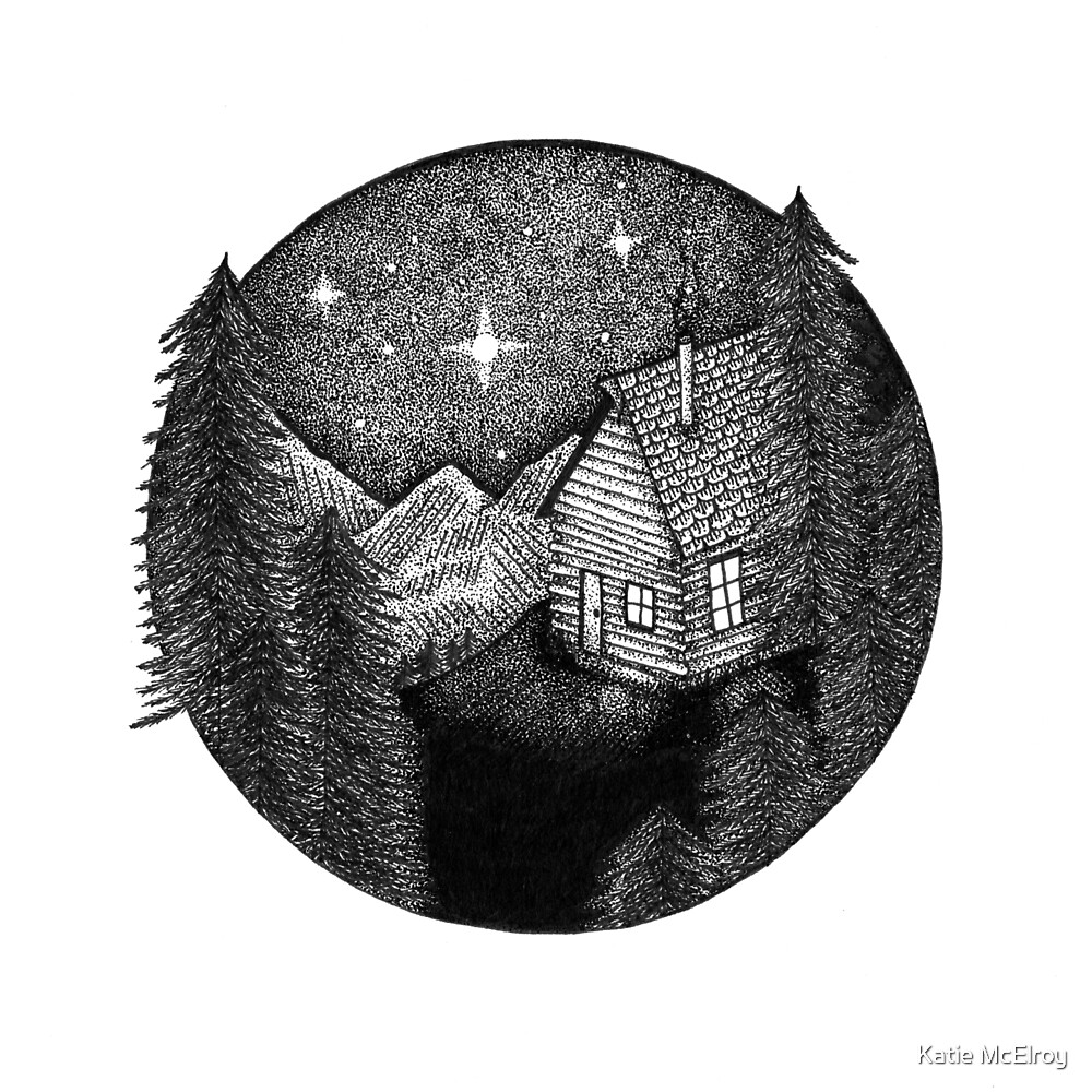 woodland home I by Katie McElroy