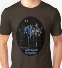 """Bomen ~ """"Ik ben een NATUUR fotograaf"""" Unisex T-Shirt"""