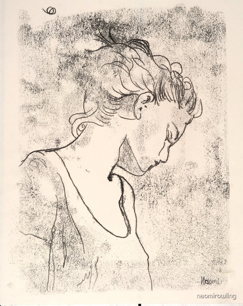 Profile, girl by naomirowling