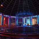 Inside the Wigwam! Liverpool Metropolitain Cathedral by Pat Herlihy