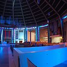Inside the Wigwam! Liverpool Metropolitain Cathedral 2 by Pat Herlihy